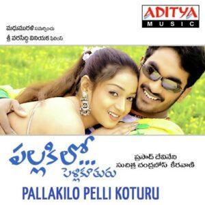 Pallakilo Pelli Kuthuru Songs