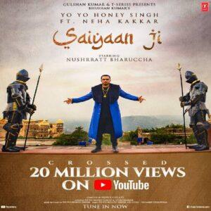 Saiyaan Ji mp3 song